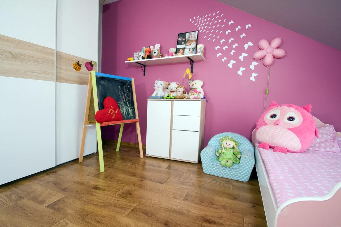 czym wykończyć pokój dla dziecka