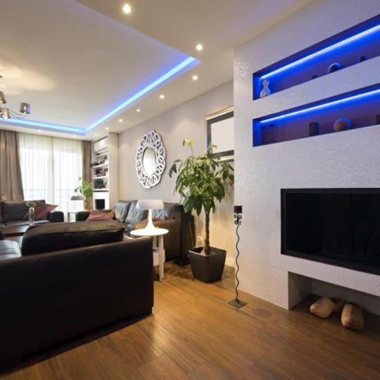 jak oświetlić mieszkanie