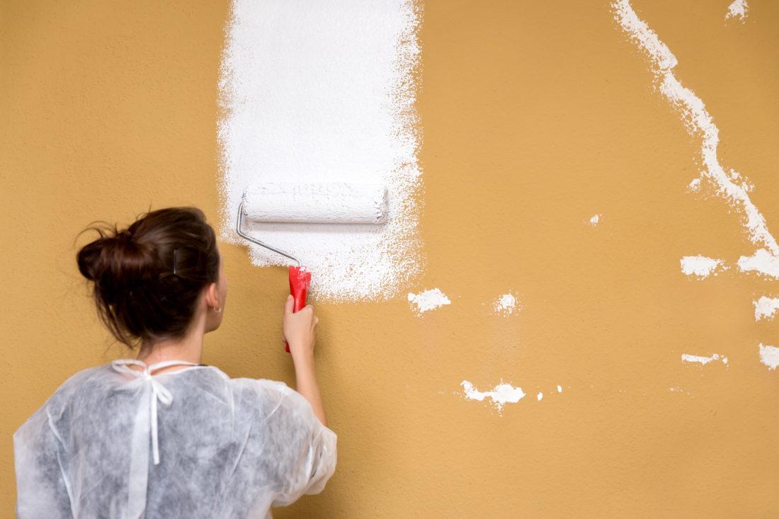 jak malować ściany i sufity