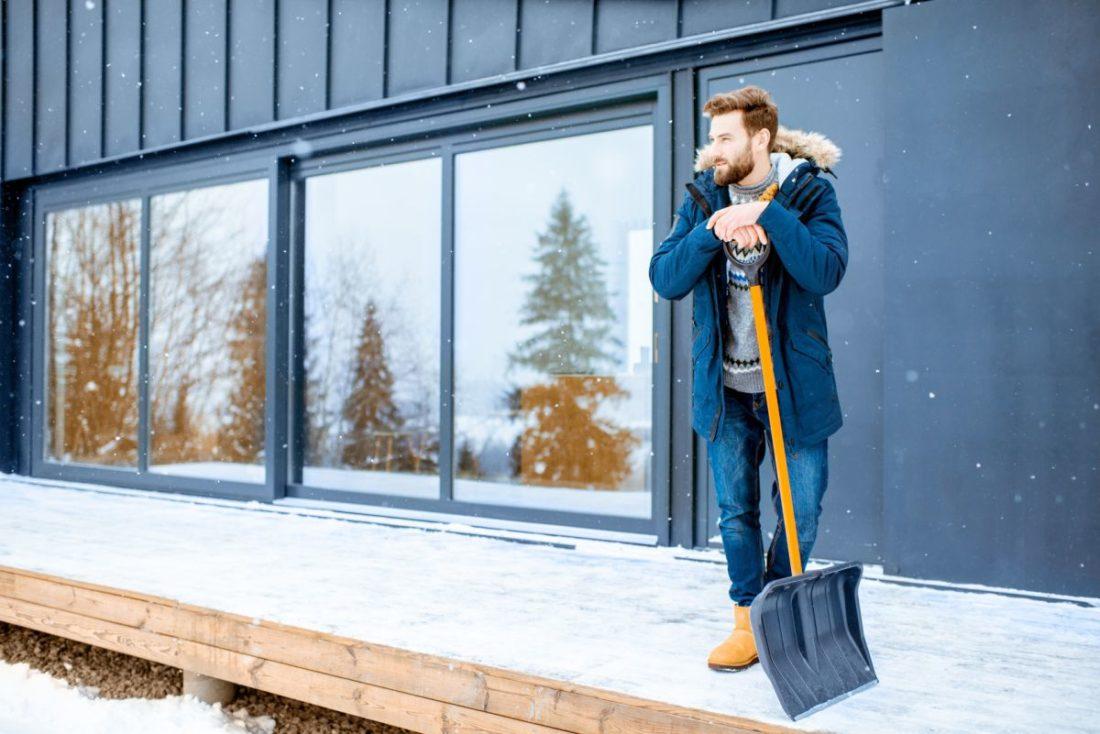 na co zwrócić uwagę podczas prac zimą?