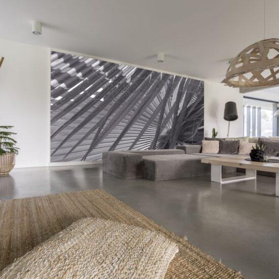 piękne udekorowanie ścian w mieszkaniu